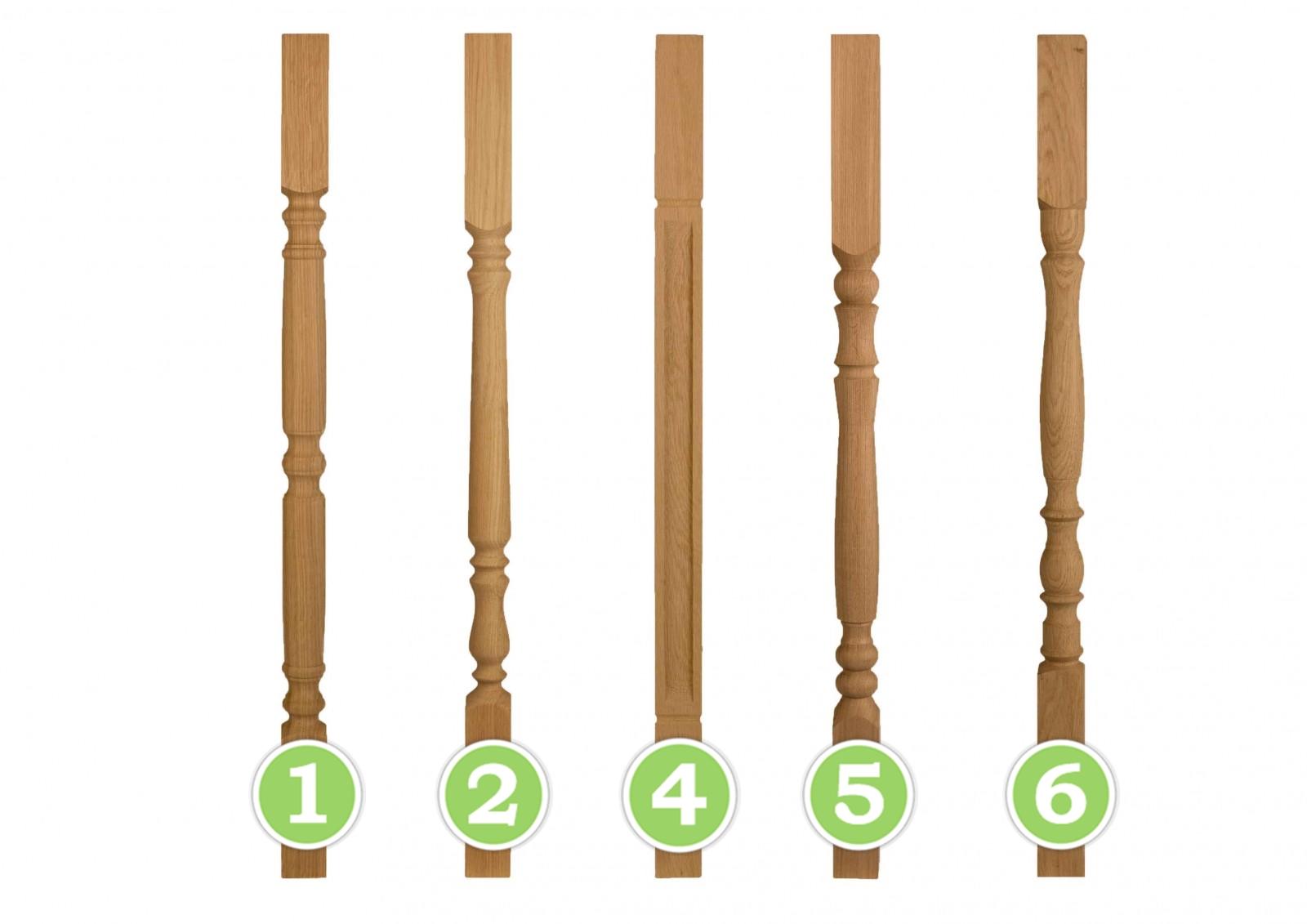 Плоские балясины из дерева своими руками чертежи их установка